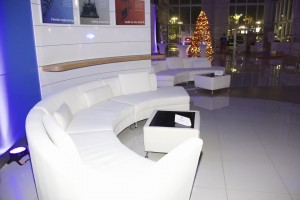 Lounge Curved Sectionals