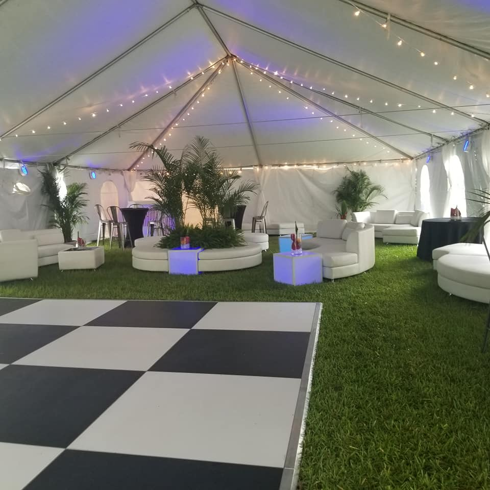 Event Furniture & Party Rentals - Tent